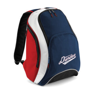 Dundee Stars Team Backpack Navy-Red