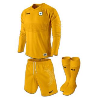 East Craigie Goalie Kit Amber