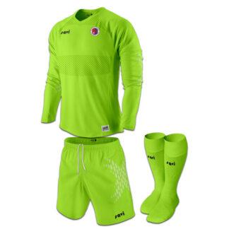 Monifieth Goalie Kit Lime